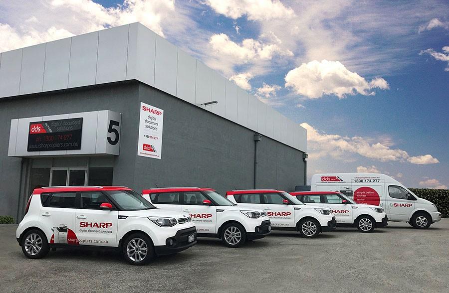 Sharp DDS' New Car Fleet