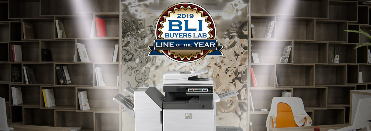 What the BLI Line of the Year Award Means for Sharp Photocopiers