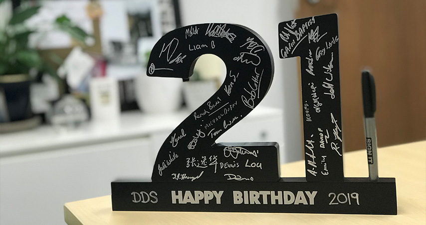 Digital Document Solutions turns 21!